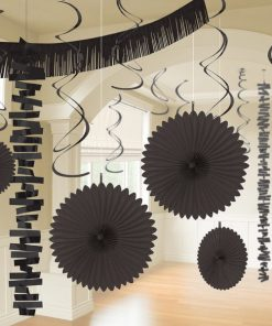 Black Party Decorations