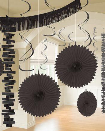 Black Party Decorations