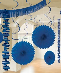 Blue Party Decorations