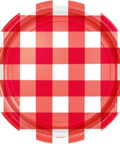 BBQ & Red Gingham