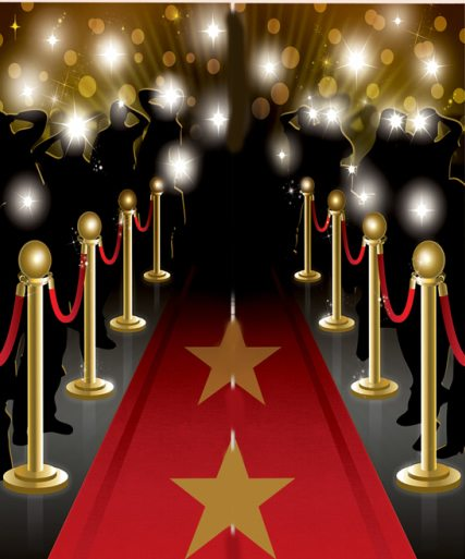 5ft Hollywood Movie Prom Night Party Decoration Giant Customisable Banner