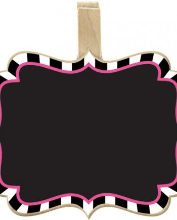 Mad Tea Party Chalkboard Clips