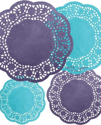 Mad Tea Party Round Doilies