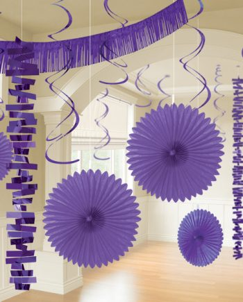 Purple Party Decorations
