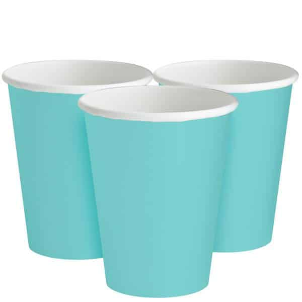 Robin's Egg Blue Party Paper Cups
