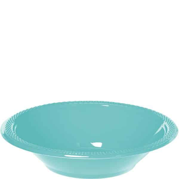 Robin's Egg Blue Party Plastic Bowls