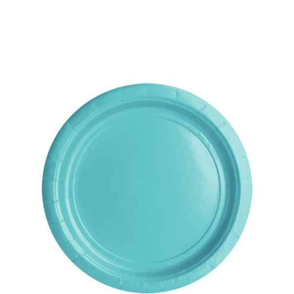 Robin's Egg Blue Party Paper Plates