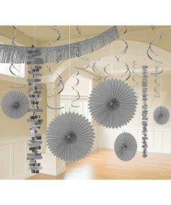 Silver Party Decorations