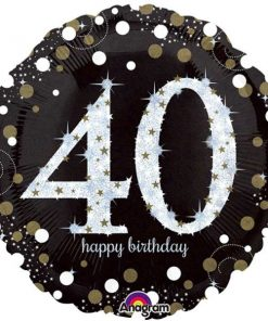 Sparkling Celebration Age 40th Party