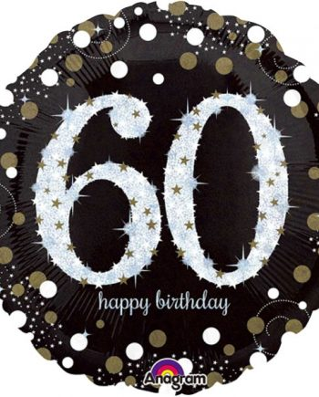 Sparkling Celebration Age 60th Party