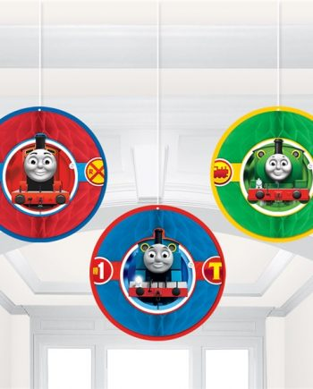 Thomas The Tank Engine Party Honeycomb Decoration
