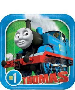 Thomas the Tank Engine Party Paper Dessert Plates
