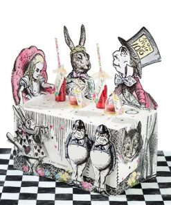 Alice in Wonderland Party Themed Truly Alice Buffet Stand Table Centrepiece