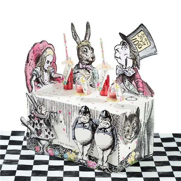 Alice In Wonderland Party Themed Truly Alice Buffet Stand