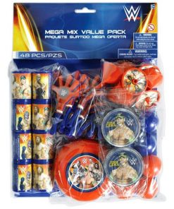 WWE Wrestling Party Bag Filler - Mega Value Pack
