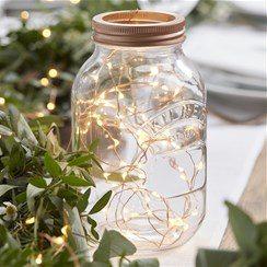 Wedding Beautiful Botanics Rose Gold String Lights