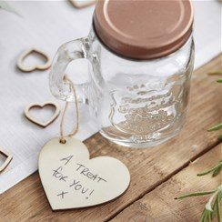 Wedding Beautiful Botanics Wooden Tags