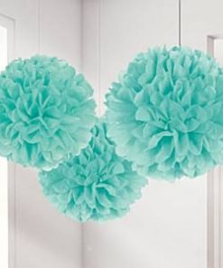 Robins Egg Pom Pom Decorations