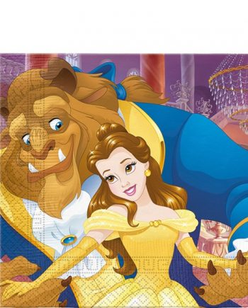 Beauty the Beast Party Paper Napkins