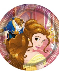 Beauty the Beast Party Paper Plates