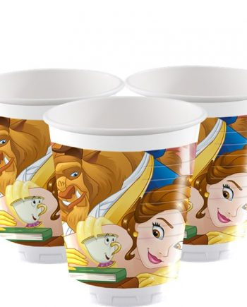 Beauty the Beast Party Plastic Cups