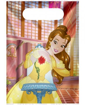 Beauty the Beast Party Plastic Loot Bags
