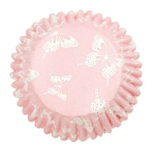 Blush Butterfly Cake Cases