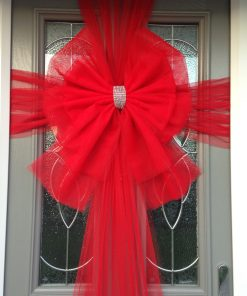 Double Deluxe Red Door Bow