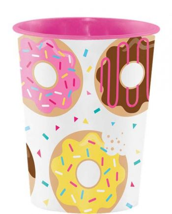 Doughnut Time Party Favour Cup