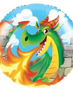 Dragon Party Foil Balloon