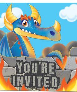 Dragon Party Invitations