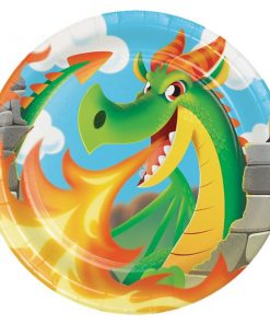 Dragon Party Paper Plates  sc 1 st  Fun Party Supplies & Dragon Party Supplies Decorations \u0026 Tableware - Fun Party Supplies