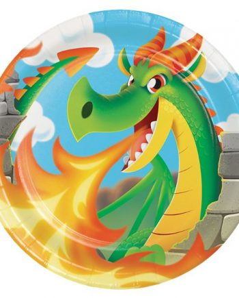Dragon Party Paper Plates