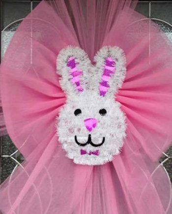 Easter Bunny Deluxe Door Bow