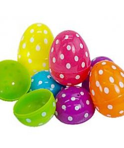 Easter Polka Dot Fillable Eggs