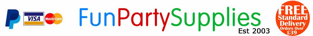 Fun Party Supplies – Party Supplies, Decorations, Tableware Fancy Dress & Balloons