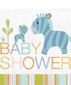 Happi Jungle Party Baby Shower Lunch Napkin
