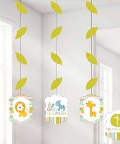 Happi Jungle Party Hanging Cutout Decorations