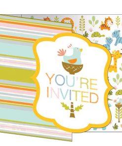 Happi Jungle Party Invitations