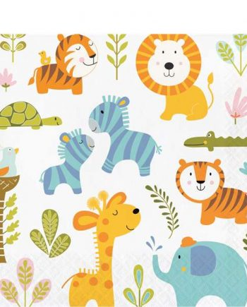 Happi Jungle Party Lunch Napkins