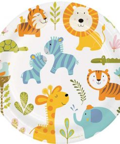 Happi Jungle Party Paper Plate