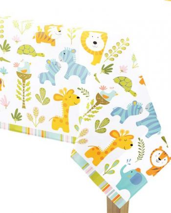 Happi Jungle Party Plastic Tablecover