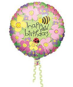 Happy Birthday Butterly Balloon