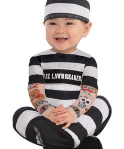 Lil' Law Breaker baby Costume