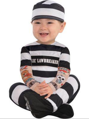 Lil' Law Breaker baby Costume
