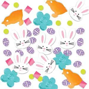 Lovely Easter Party Easter Party Table Confetti