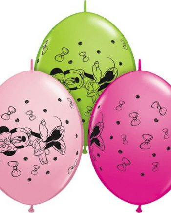 Minnie Mouse Party Quicklink Balloons