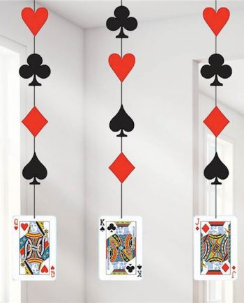 Magic Party Cards Hanging Cutouts