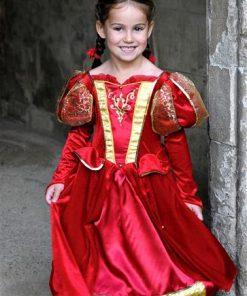 Child Costume Medieval Queen
