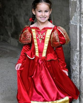 Child Costume Medieval Queen